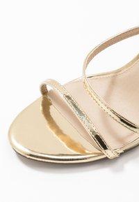 4th & Reckless - AIMEE - Sandály na vysokém podpatku - gold - 2