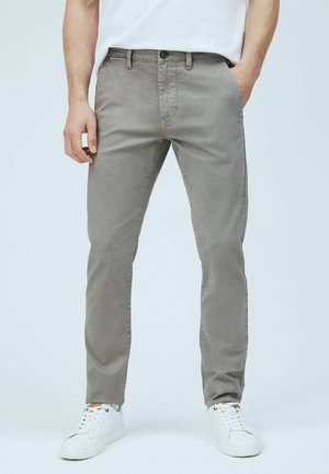 CHARLY - Chino - mottled beige