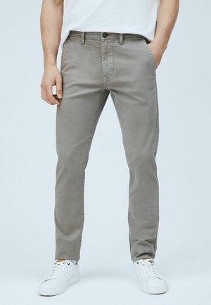 CHARLY - Chino kalhoty - mottled beige
