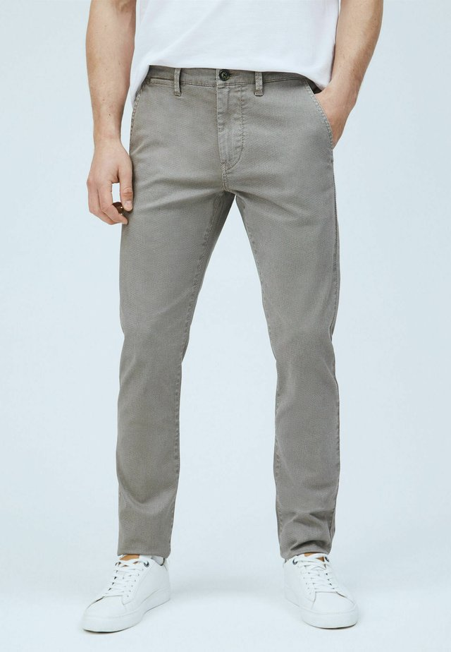 CHARLY - Pantalones chinos - mottled beige