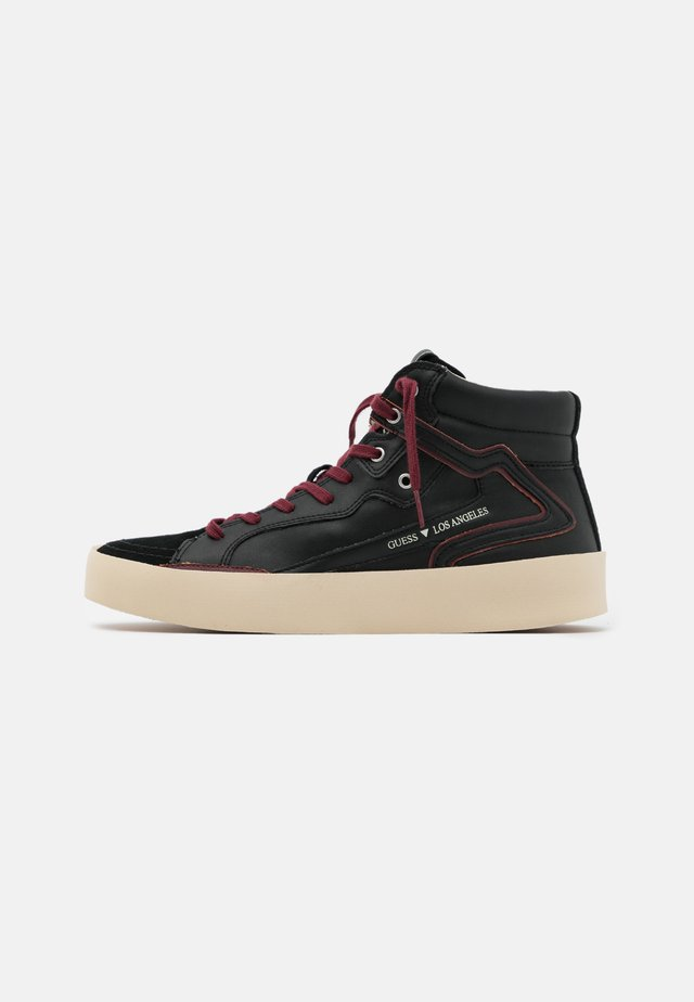 LODI MID - Baskets montantes - black