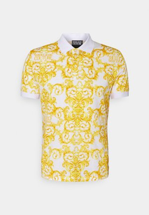 PRINT LOGO BAROQUE  - Polo shirt - white