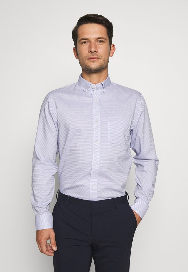 BUTTON DOWN COLLAR - Shirt - navy