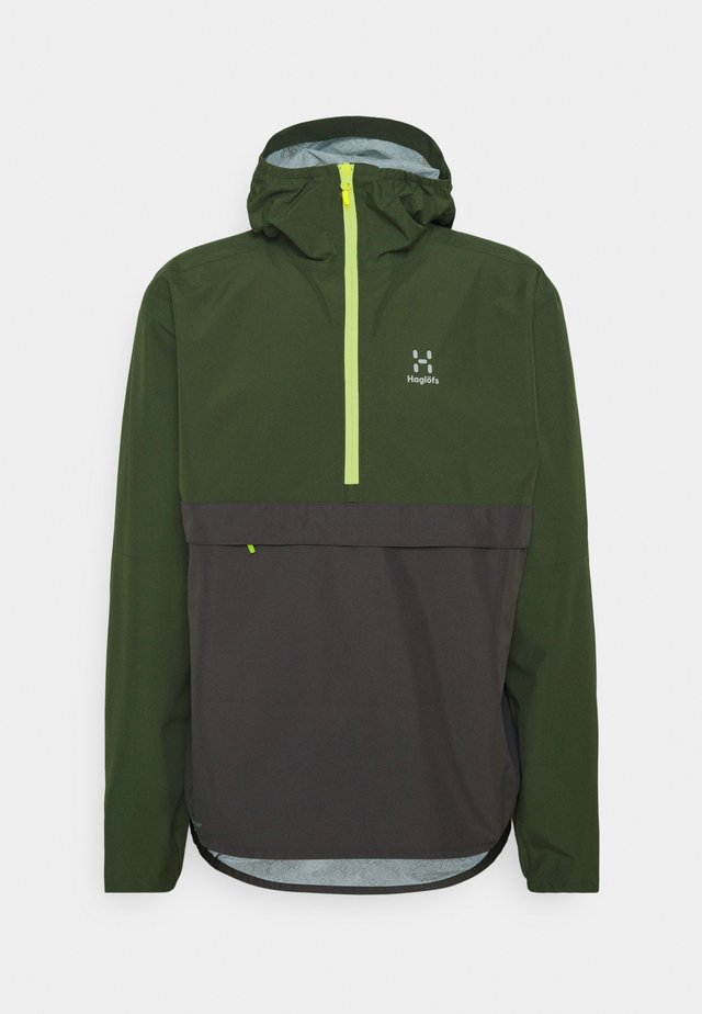 SPIRA ANORAK MEN - Windbreaker - fjell green/magnetite