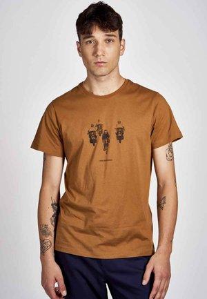 Print T-shirt - rubber