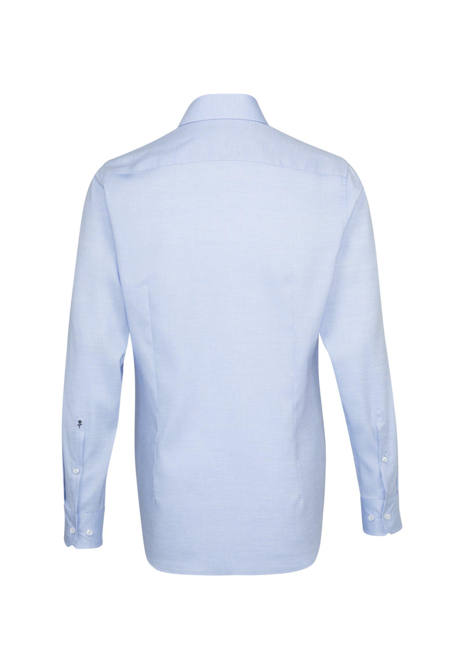 Seidensticker SHAPED FIT - Chemise classique - blue