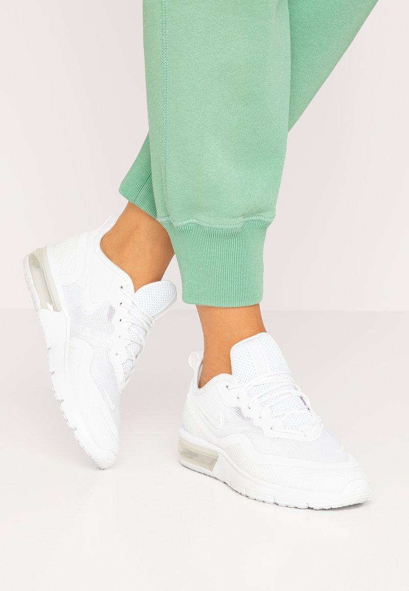 Nike Sportswear - AIR MAX SEQUENT 4.5 - Joggesko - white