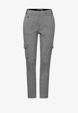 Cargo trousers - anthracite melange