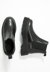 Zign - Platform ankle boots - black - 3