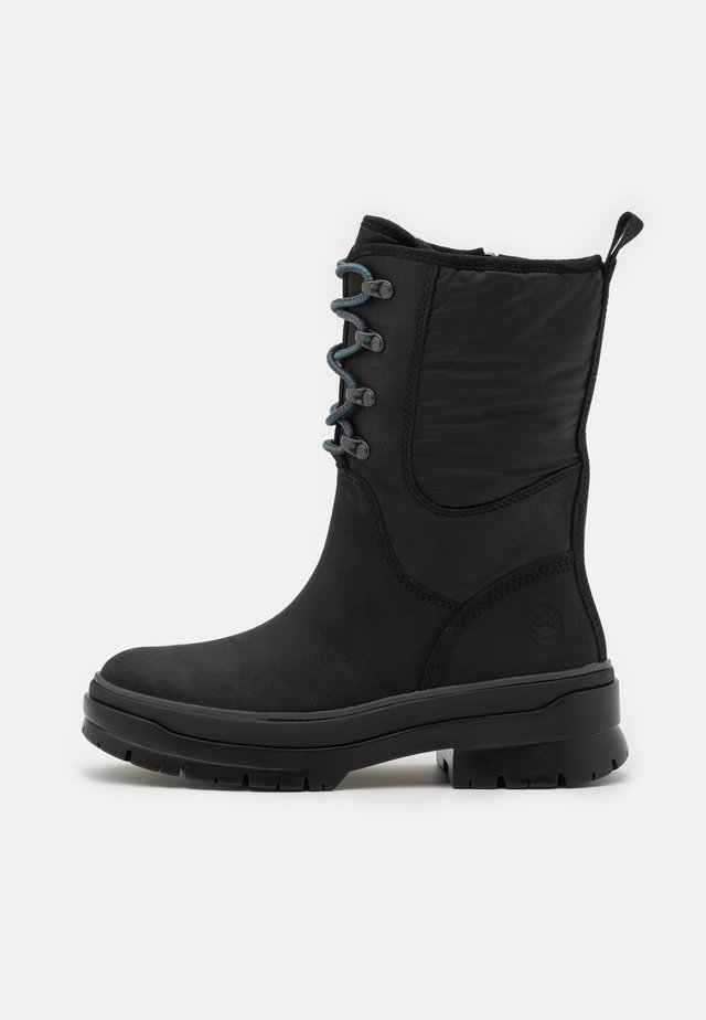 MALYNN LACE MID WP - Winter boots - black