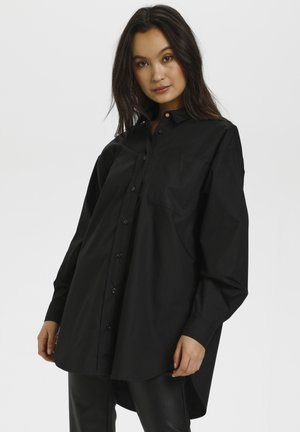 LOLLY - Button-down blouse - black deep