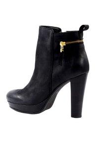 sacha - High heeled ankle boots - black - 3