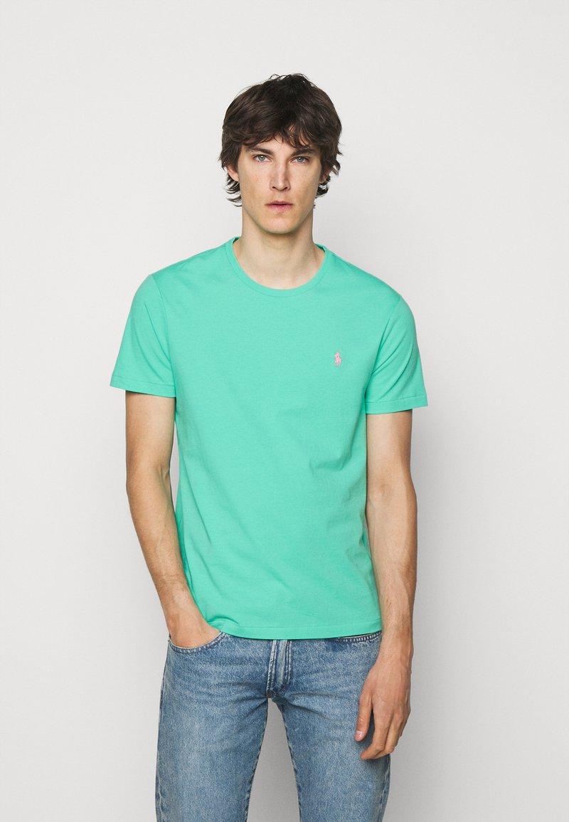 Polo Ralph Lauren - CUSTOM SLIM FIT JERSEY CREWNECK T-SHIRT - Basic T-shirt - sunset green