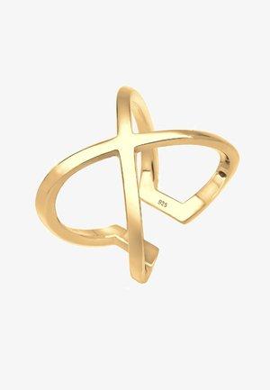 KREUZ - Ring - gold-coloured