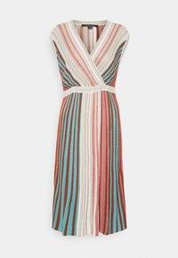 comma - Jumper dress - metallic red - 0