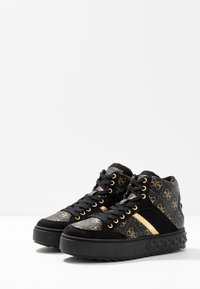 Guess - FIXIN - Sneakersy wysokie - black - 4