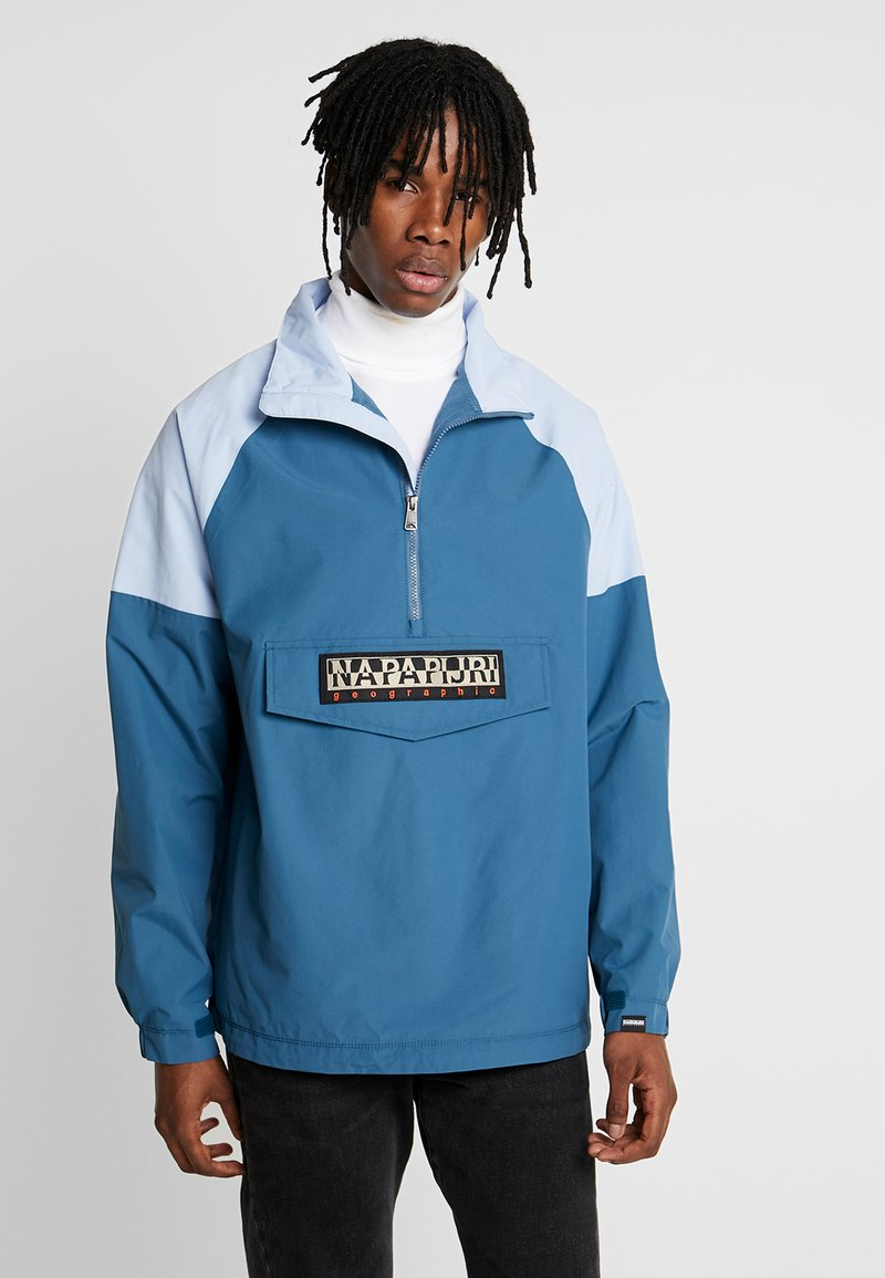 Napapijri The Tribe - ASTROS - Windbreaker - mallard blue