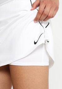 Nike Performance - DRY SKIRT - Sports skirt - white/black - 5