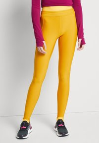 adidas Performance - ASK C.RDY - Tights - dark yellow - 0