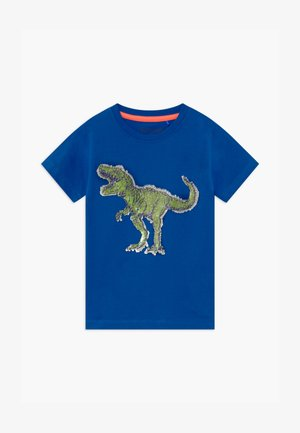 SMALL BOYS T-REX DINOSAUR - T-shirt print - royal