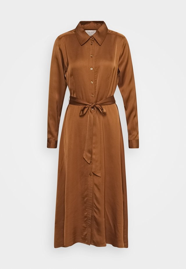 ERIONAP - Shirt dress - hazel brown