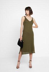KIOMI - Maxi dress - olive night - 2