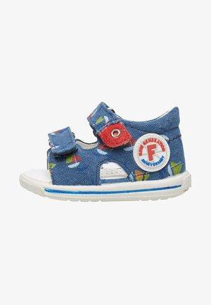 NEMO CON BARCHETTE - Walking sandals - blau
