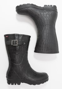Viking - HEDDA CROCO - Kumisaappaat - black - 1