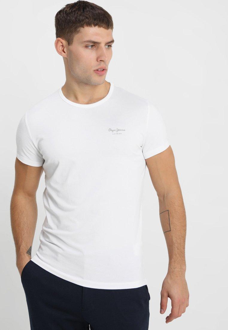 Pepe Jeans - ORIGINAL BASIC - Camiseta básica - blanco