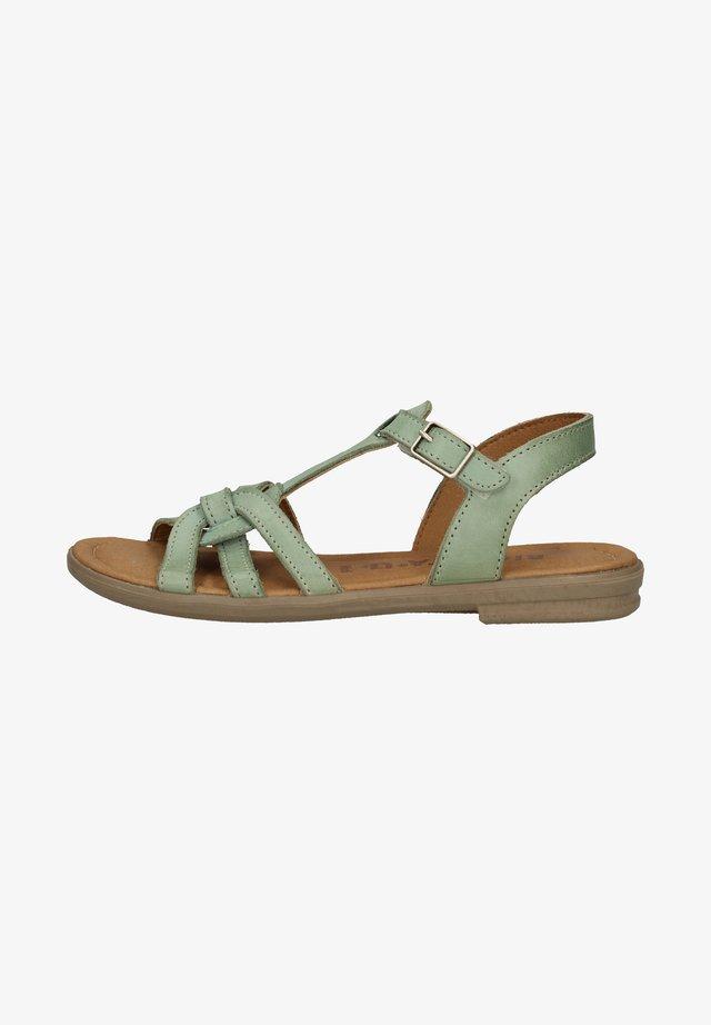 Sandalen - jade