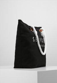 Seafolly - SHIP SAIL TOTE - Strandaccessoire - black - 3