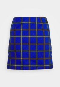 Obey Clothing - BAILEY SKIRT - Minisukně - blue - 4