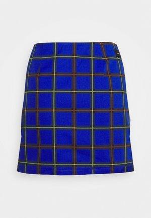 BAILEY SKIRT - Spódnica mini - blue