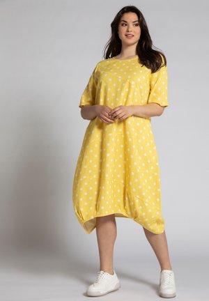 Day dress - helles eigelb