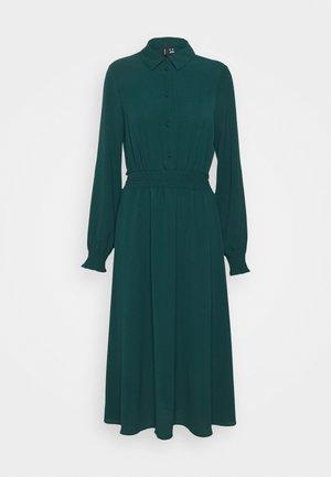 VMSAGA SMOCK CALF DRESS - Maxi dress - sea moss