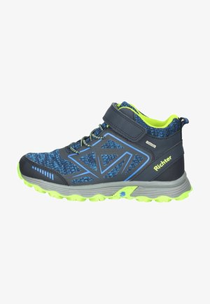 Sneakersy wysokie - atlantic/lime/lagoon