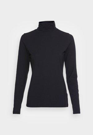 LONG SLEEVE ROLL NECK - T-shirt à manches longues - black