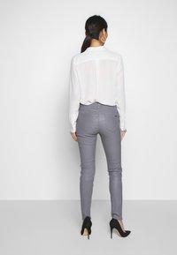 Oakwood - Kožené kalhoty - grey - 2