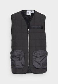 adidas Originals - PADDED VEST - Bodywarmer - black - 3