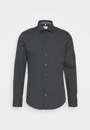 SLIM KENT PATCH - Formal shirt - schwarz