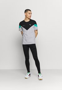 Gabba - ZIP DESTROY  - Jeans Skinny Fit - blak denim - 1