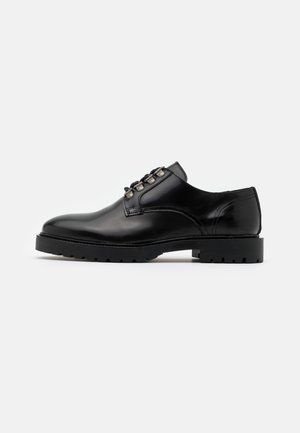 HARRY DERBY SMOOTH - Lace-ups - black