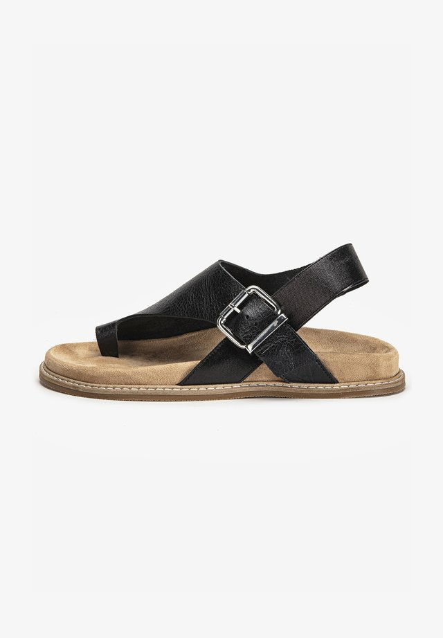 T-bar sandals - mntrl black nbl
