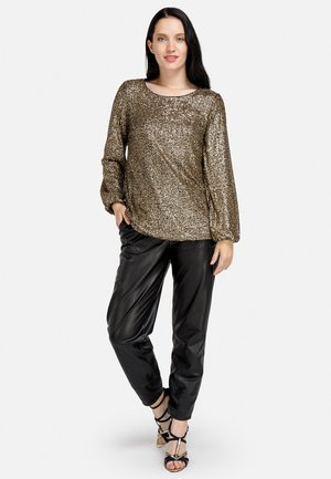 Blouse - gold-coloured