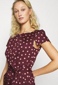 Closet - TULIP DRESS - Day dress - burgundy - 4
