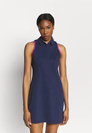 ZINGER DRESS - Sports dress - midnight navy