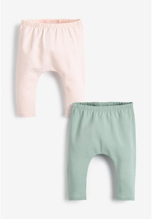 2 PACK RUFFLE LEGGINGS (0MTHS-3YRS) - Leggings - Trousers - pink
