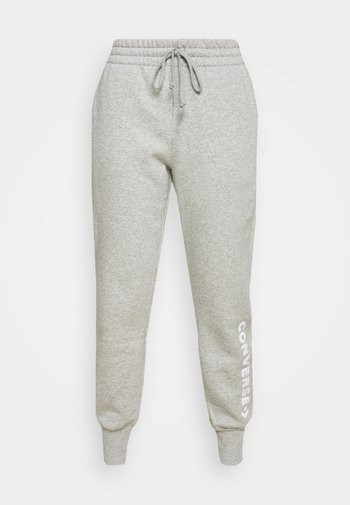 EMBROIDERED PANT - Tracksuit bottoms - grey