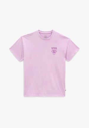 WM STRANGE TRIP OS S/S - T-shirt med print - orchid