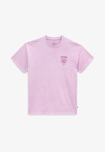 WM STRANGE TRIP OS S/S - Print T-shirt - orchid